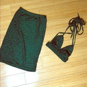 Glitter 2 Piece / Green
